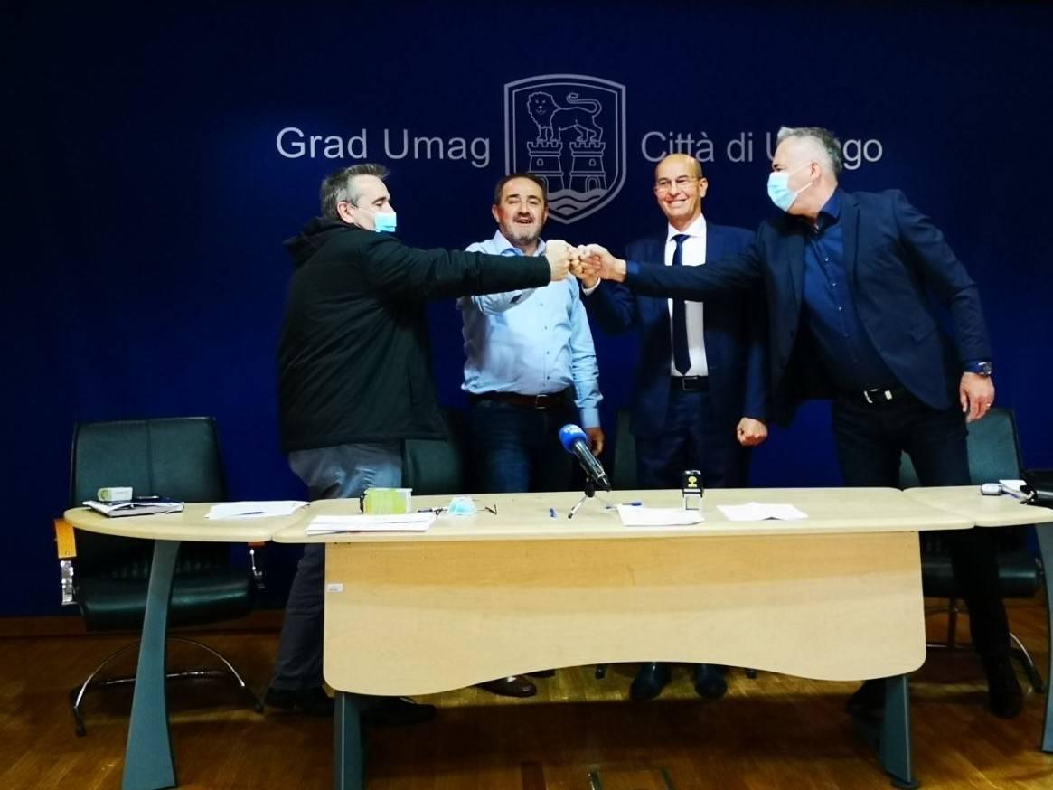 Umag lider u Istri: potpisivanjem ugovora kreće izgradnja 4. POS zgrade