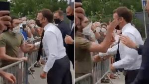 Video: Francuski predsjednik dobio šamar!