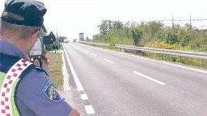 Najava kontrole brzine kretanja