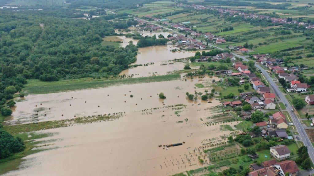 Poplave na istoku Hrvatske