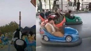 Video: Talibani se zabavljaju u lunaparku