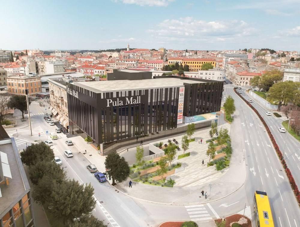 Ulaganje od 130 milijuna kuna: U središtu Pule niknut će novi trgovački centar