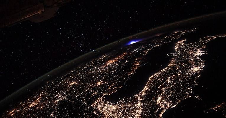 Nad Europom snimljeno golemo svjetlo nalik na eksploziju bombe
